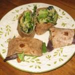 Basmati Rice Salad Wrap